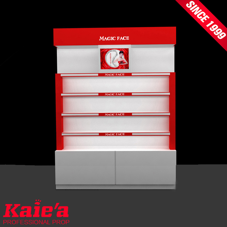 2018 cosmetic display stand mac cosmetic display stand