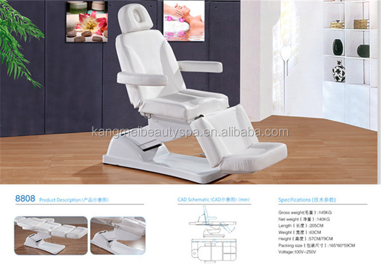 2015 thermal jade massage bed&used electric massage table&beauty salon massage table portable (KM-8808)