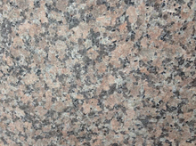 Outdoor granite pave tile light maple red granite flamed G562 chinese granite