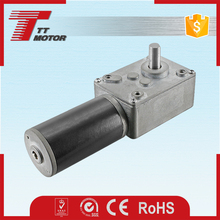 12V 24V 15A stall current DC worm gear motors