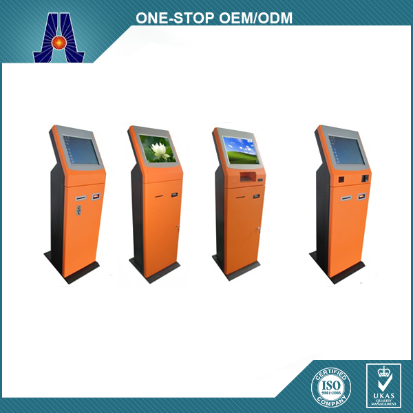 Touch Screen Payment Kiosk And Cash Dispenser Machine