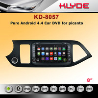 klyde bottom price 2 din 8 inch android 4.4.2 picanto car radio with gps bluetooth FM AM Radio Ipod TV