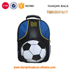 Football pattern School backpack Sport bag for student