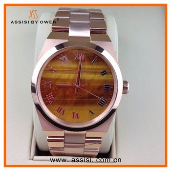 china alibaba Assisi quartz watch stainless steel watch