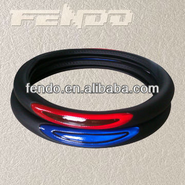 high performance PVC/PU car steering wheel cover