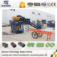 automatic concrete /paver block making machine factory in Guangzhou China hot sale in Oman and Egypt