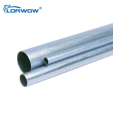 ANSI C80.3 UL797 standard steel conduit/emt conduit pipe for protectting wiring and cable