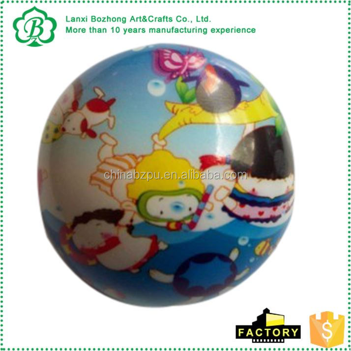 Factory Sale special design kids bouncy ball handle for wholesale