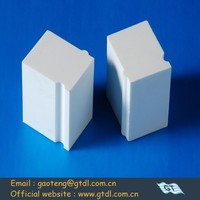 92% wear resistant alumina ceramic lining brick for mining ball mill