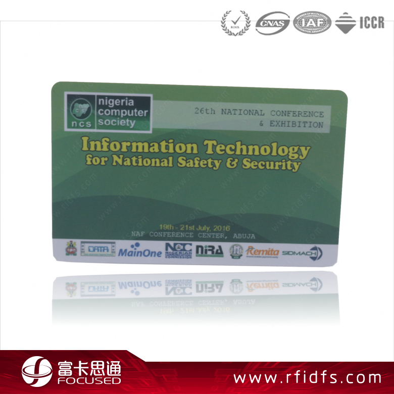 Hot Selling Passive Smart Encode 13.56Mhz Rfid Debit Cards