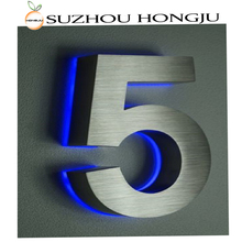 Wholesale Simple Design Stainless Steel House Number