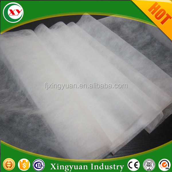 18gsm spunlace super soft non woven for baby adult diaper top sheet