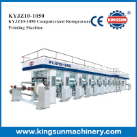 KYJZ-850 computer control high speed gravure or rotogravure printing press machines