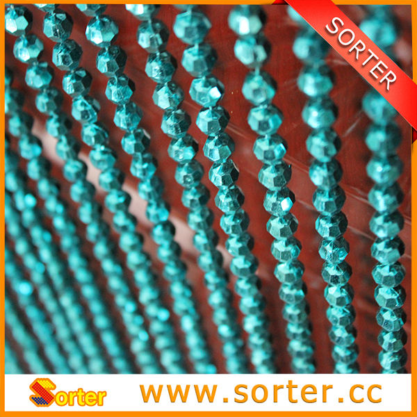 China fashion design plastic bead curtains for doors