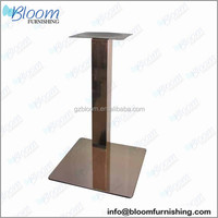 New coffee chrome dining 304 Stainless Steel table Base