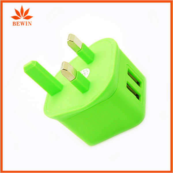 dual port 2 usb multiple uk mobile phone usb wall charger