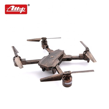 Attop quadcopter foldable 2.4G RC hd camera wifi drone with AR function