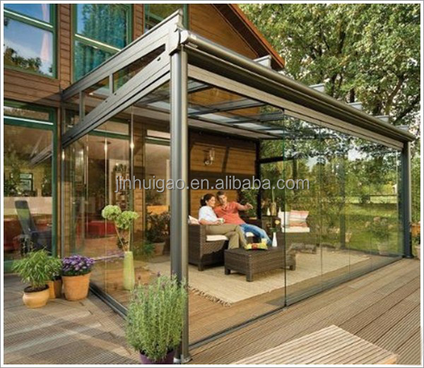 Aluminum Frame Double Glass Lowes Sunrooms exterior winter garden