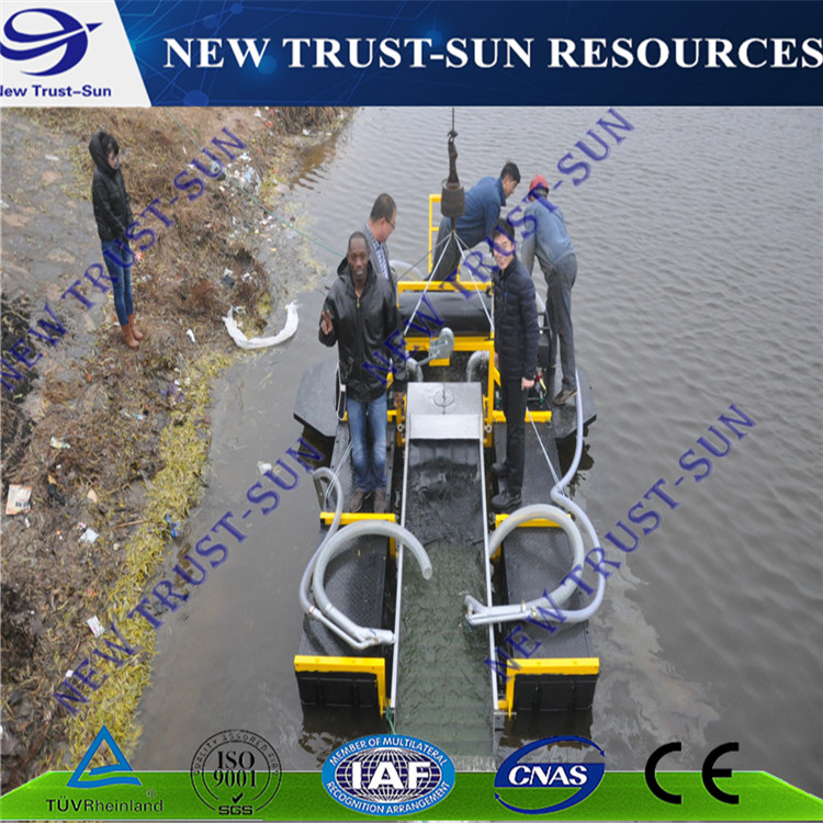 Gasoline engine type gold mining dredger for gold washing /concentrating