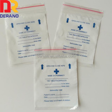 food grade 100% LDPE material drug envelope storage packing plastic bag from alibaba china