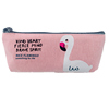 Promotional Cheap Logo Printing Custom Canvas Stationery Pencil Bag