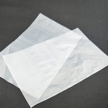 Factory Price chips packaging hdpe flat poly bags price