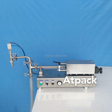 Atpack high-accuracy semi-automatic Free Sample Available Pure Odorless Garlic Oil filling machine with CE GMP