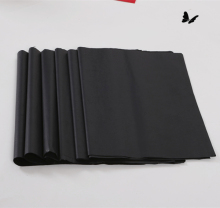 MF MG black colored tissue paper silk paper with nice pattern