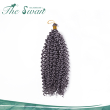 Swan Best Quality High Temperature Japanese Water Fiber Synthetic Hair Extensions