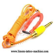 NEW professional wholesale RCA tattoo power Clip cord for machine gun