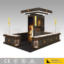 luxury shopping mall display retail display furniture and jewelry kiosk design for sale