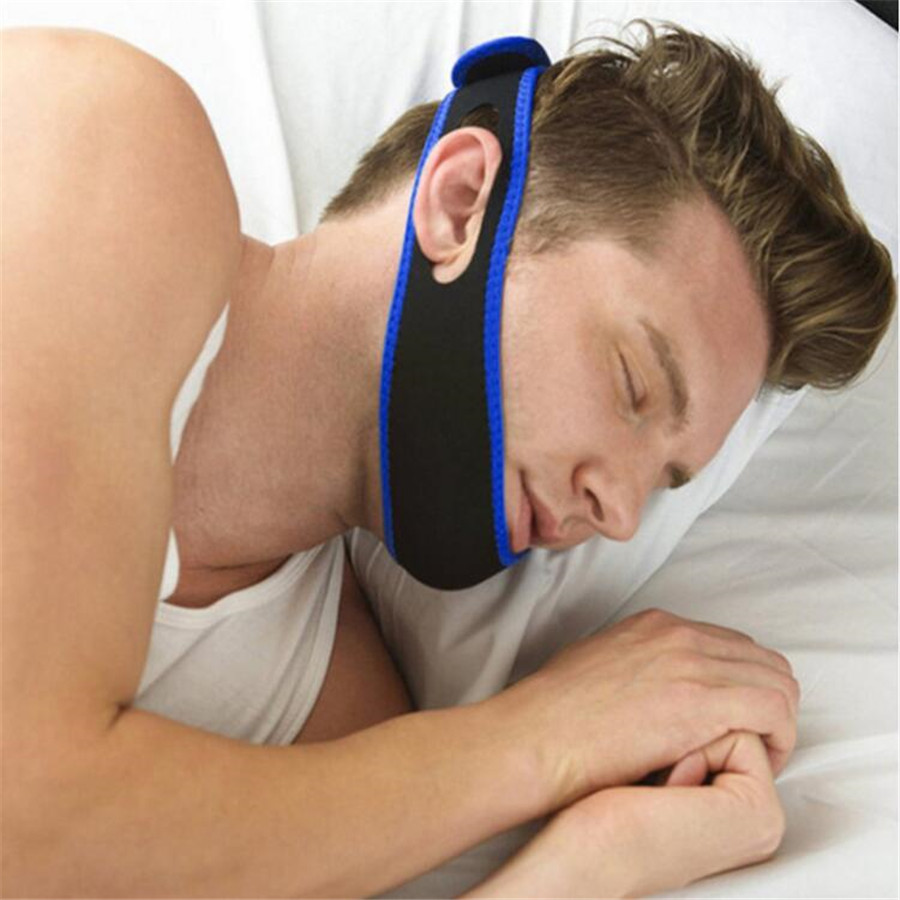 Anti Snore Belt Stop Snoring Sleep Apnea Chin Jaw Support Strap for Woman Man Care Sleeping Tools <strong>Health</strong> Professional