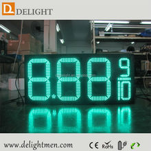 led display for time date temperature/ digital fuel price signs/ large led countdown clock