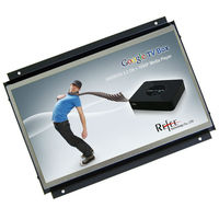 "10.1,11.6,12"" usb lcd monitor network connection open frame display wall mount 10.1inch tablet lcd advertising player"