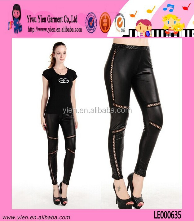 Top Quality Black Tight Leggings Wholesale Winter New Hot Sexy Warm Ladies xxl Leggings Leather