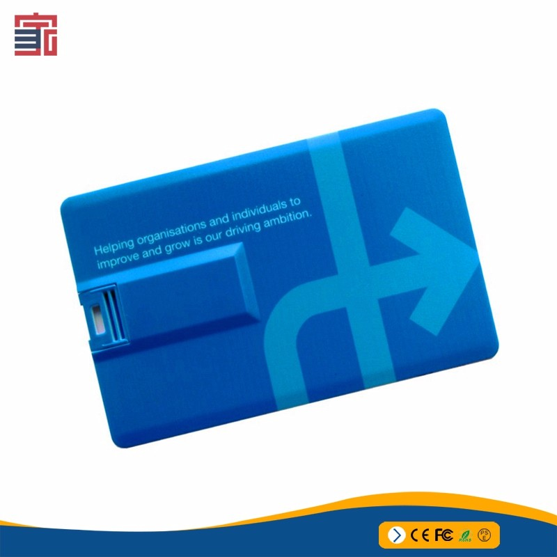 2018 Excellent Quality Ultra Thin Credit Card Usb 3.0 Usb Flash Drive