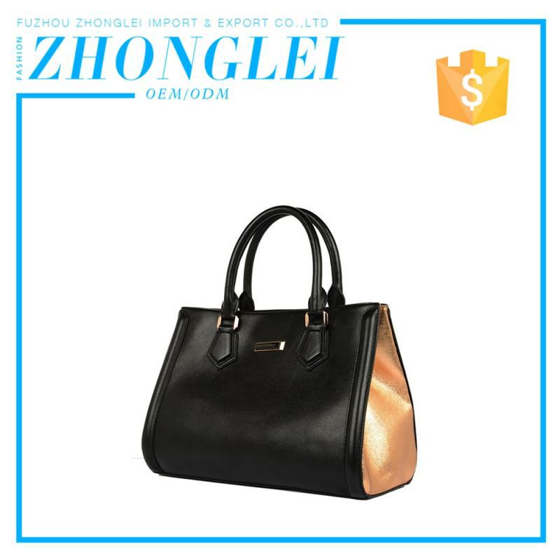 Export Quality Good Price Pu Leather Shopping Bags