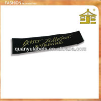 The hot-sale fashion apparel end fold USA woven labels