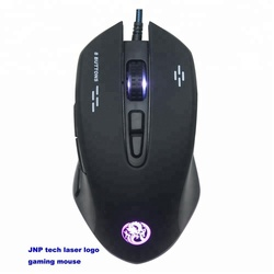 8D gaming USB mouse computer mice with running light