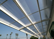 inside and outside roofing decoration polycarbonate plastic Sun Sheets&PC Embossed Sheets