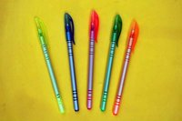 Ball Pens NEW Transparent Ball Pens