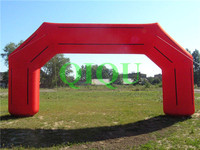 Commercial clown cartoon promotion inflatable arch door advertising