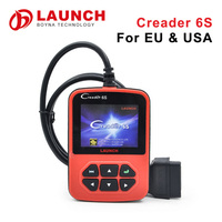100% Original Launch Creader 6S EU & USA Version diagnostic Code auto transmission scanner