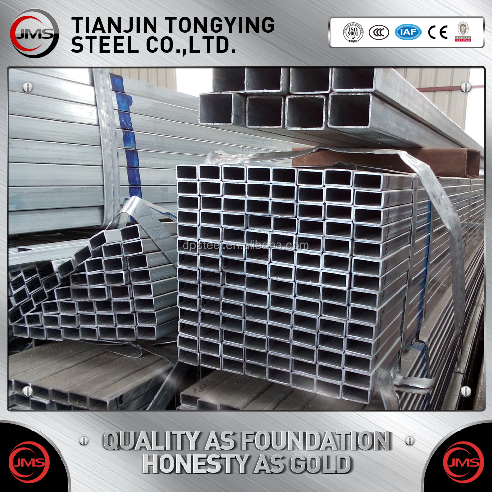 online product selling website 75x75 Galvanized Square Tube/HDG pipe manufacturer