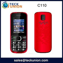 C110 1.8inch mini small size mobile phone dual sim factory price handphone