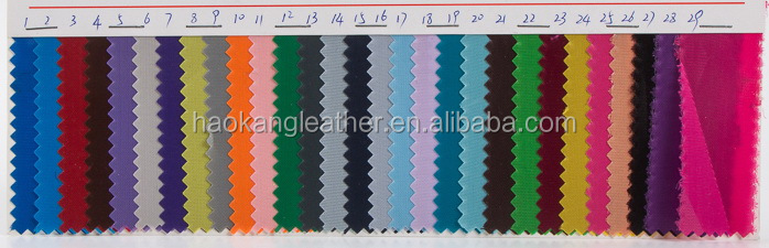 210d Oxford bag lining fabric with coating
