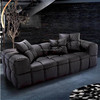 Small modern corner sofa, divan living room furniture