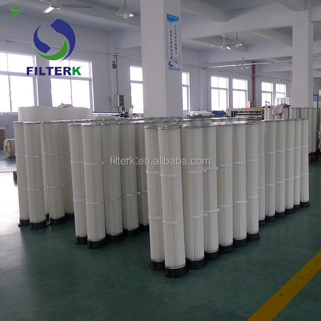 FILTERK Pleated Silo Bag Filters For Dust Collector
