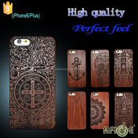 High quality wooden cell phone case for iphone 6s/plus