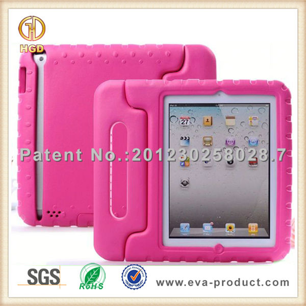 Kids EVA Convertible Handle Case for iPad, for iPad 2 3 4 Case